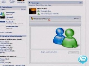 Windows Live Messenger for Facebook