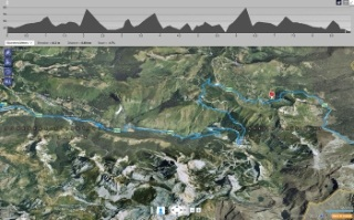 Tour de France in a Bing Map App