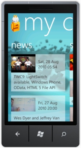 Channel 9 App for Windows Phone 7
