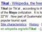 Expanded Wikipedia Results in Live Search