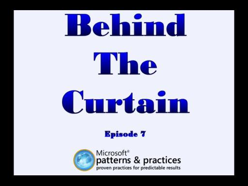 Behind The Curtain - Episode #7