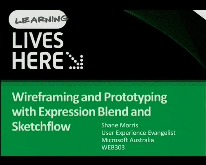 Free up the UX Bottleneck: Wireframing and Prototyping with Expression Blend and Sketchflow