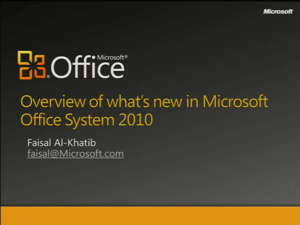 Overview and What's New in Microsoft SharePoint Server 2010 for IT Pros