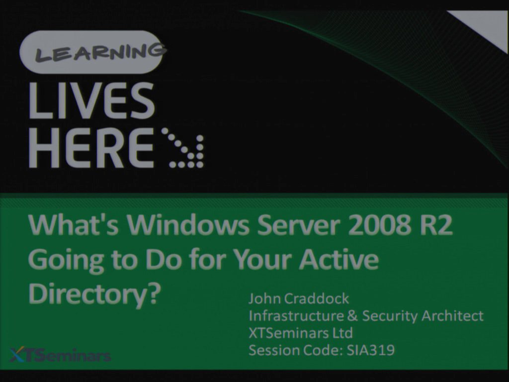 What's Windows Server 2008 R2 Going to Do for Your Active Directory?