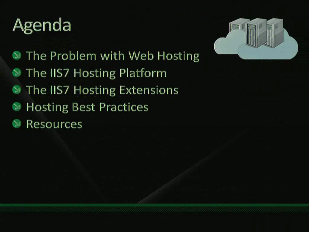 Architecting a Scalable WebHosting Platform with Internet Information Services (IIS)
