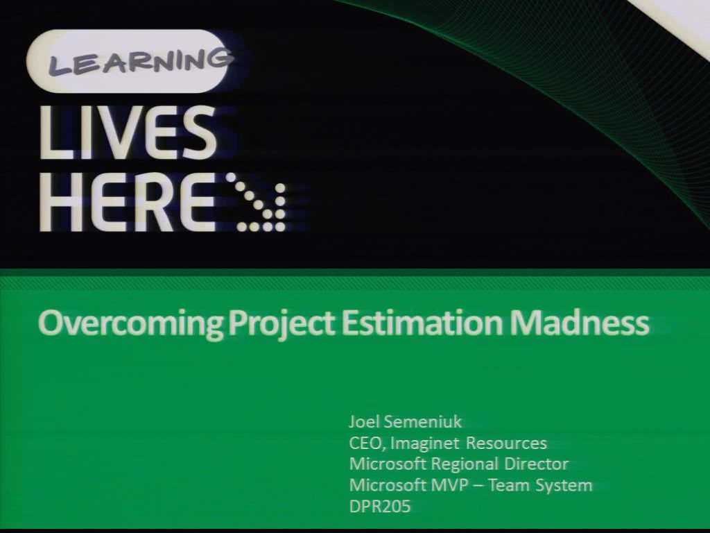 Overcoming Project Estimation Madness