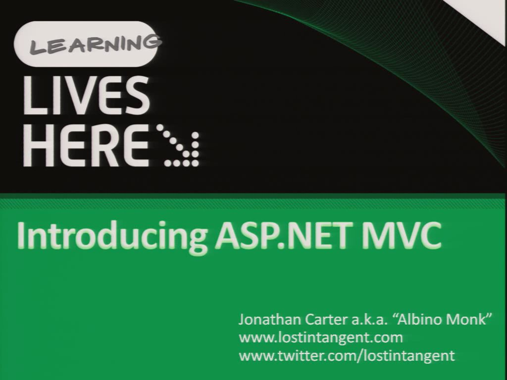 Introducing ASP.NET MVC