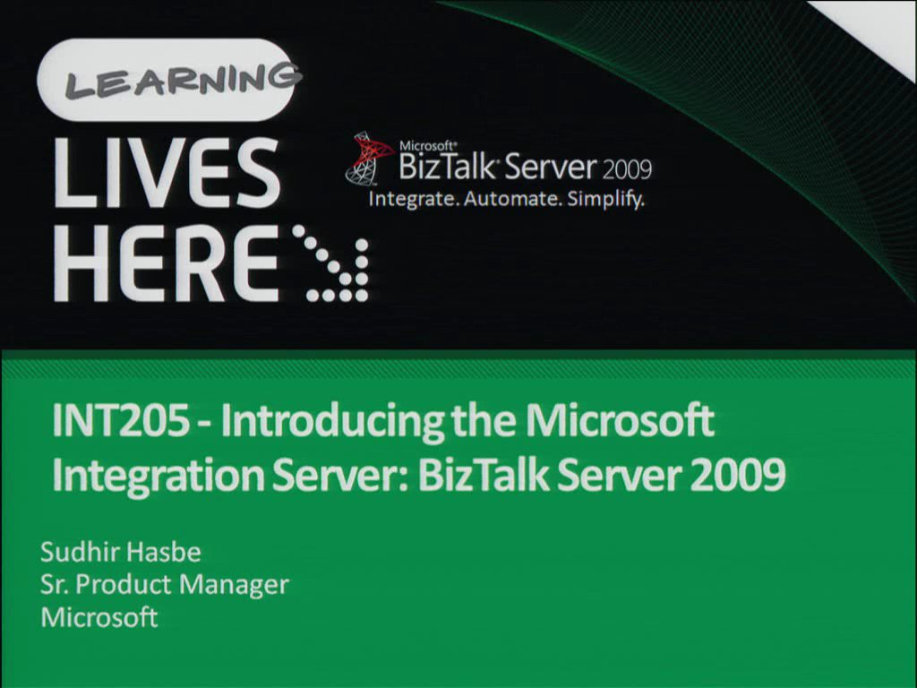 Introducing the Microsoft Integration Server: BizTalk Server 2009