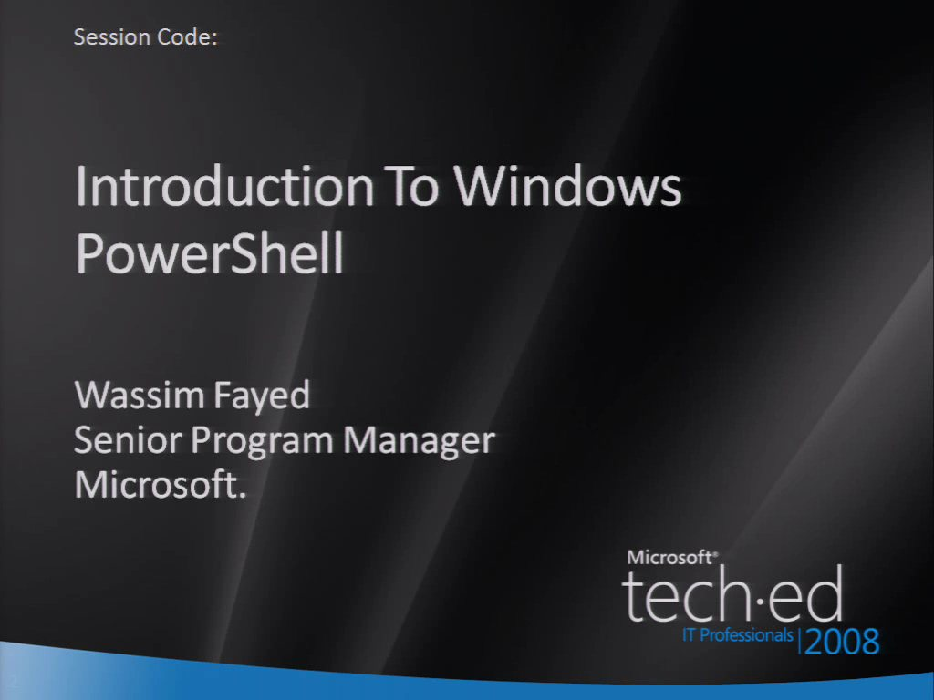 Introduction to Windows PowerShell