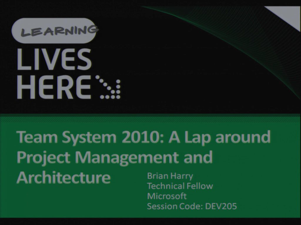 Microsoft Visual Studio Team System 2010: A Lap around the New Project Management, Architecture, and Governance Capabilities