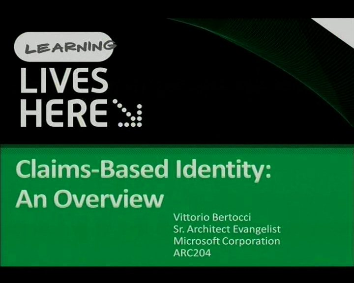 Claims-Based Identity: An Overview