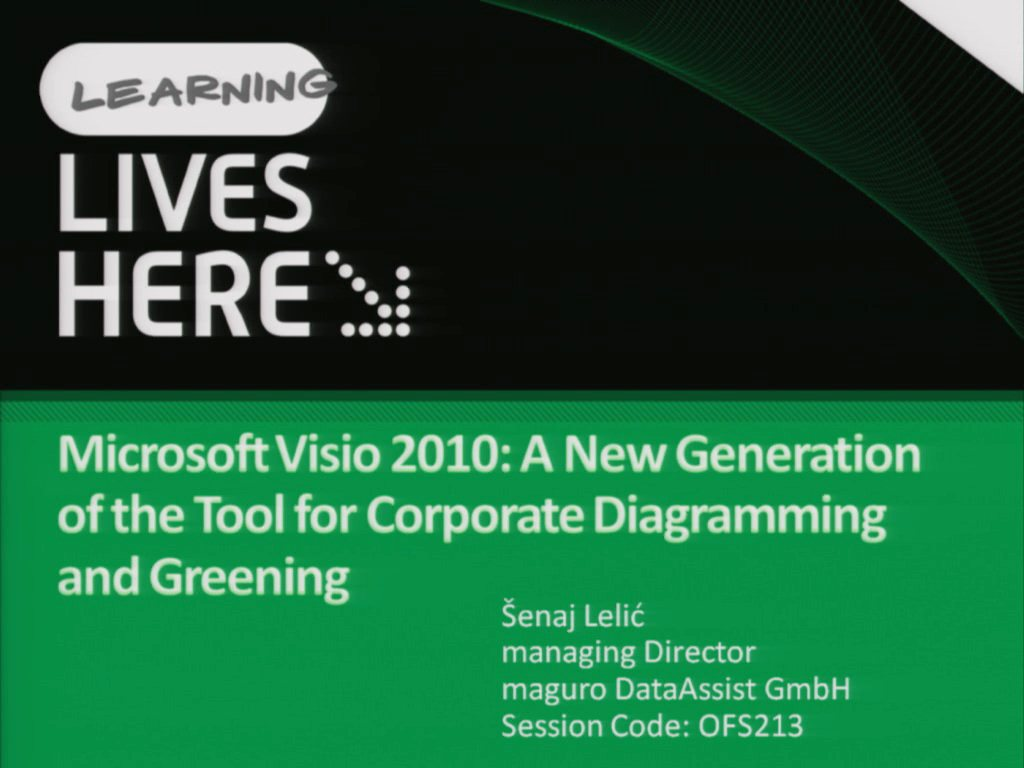 Microsoft Visio 2010: A New Generation of the Tool for Corporate Diagramming and Greening