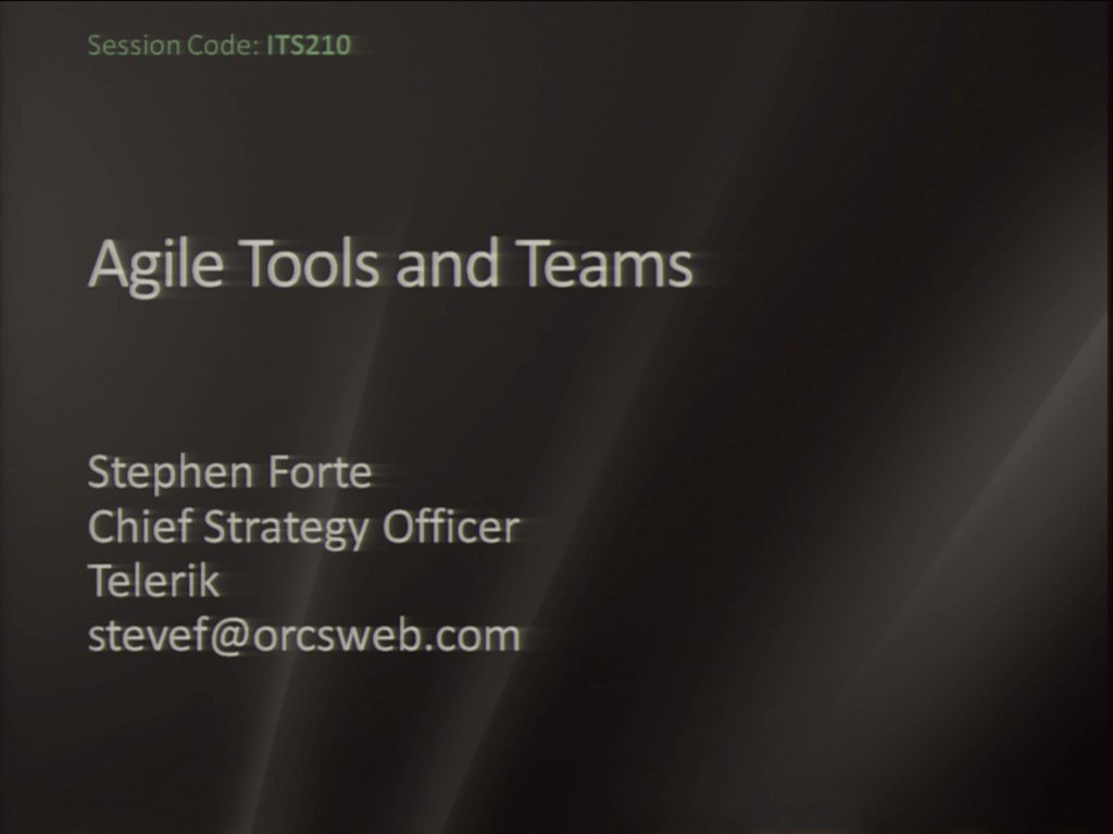 Tools and Agile Teams