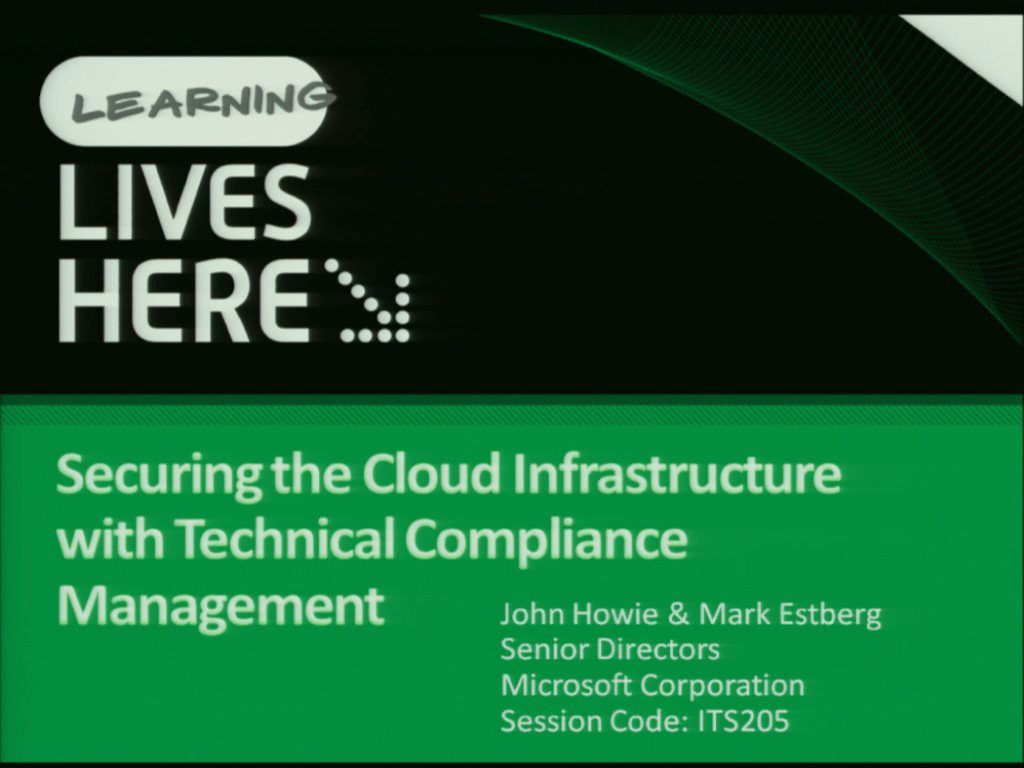Securing the Cloud Infrastructure with Technical Compliance Management