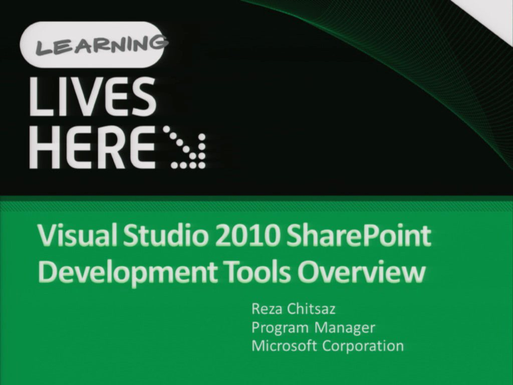 Introduction to the Microsoft Visual Studio 2010 SharePoint Tools