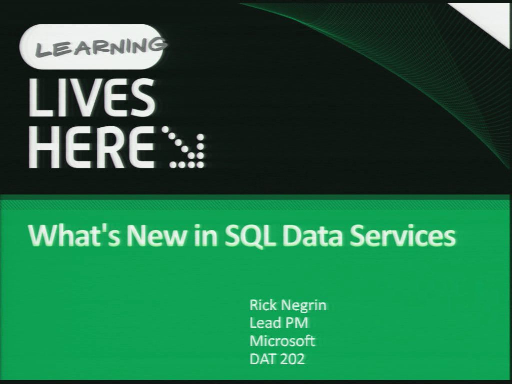 Building NextGen Scalable & Highly Available Architectures with Microsoft SQL Server 2008