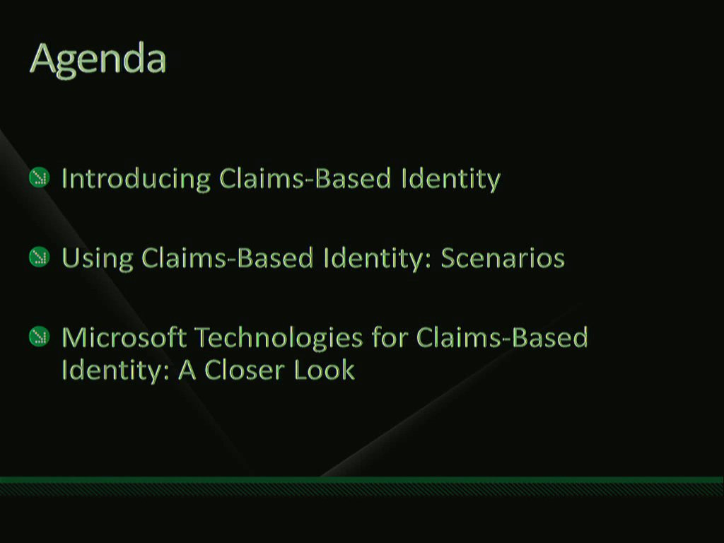 Understanding Claims-Based Applications: An Overview of Active Directory Federation Services (AD FS) v2, Windows Identity Foundation, and CardSpace