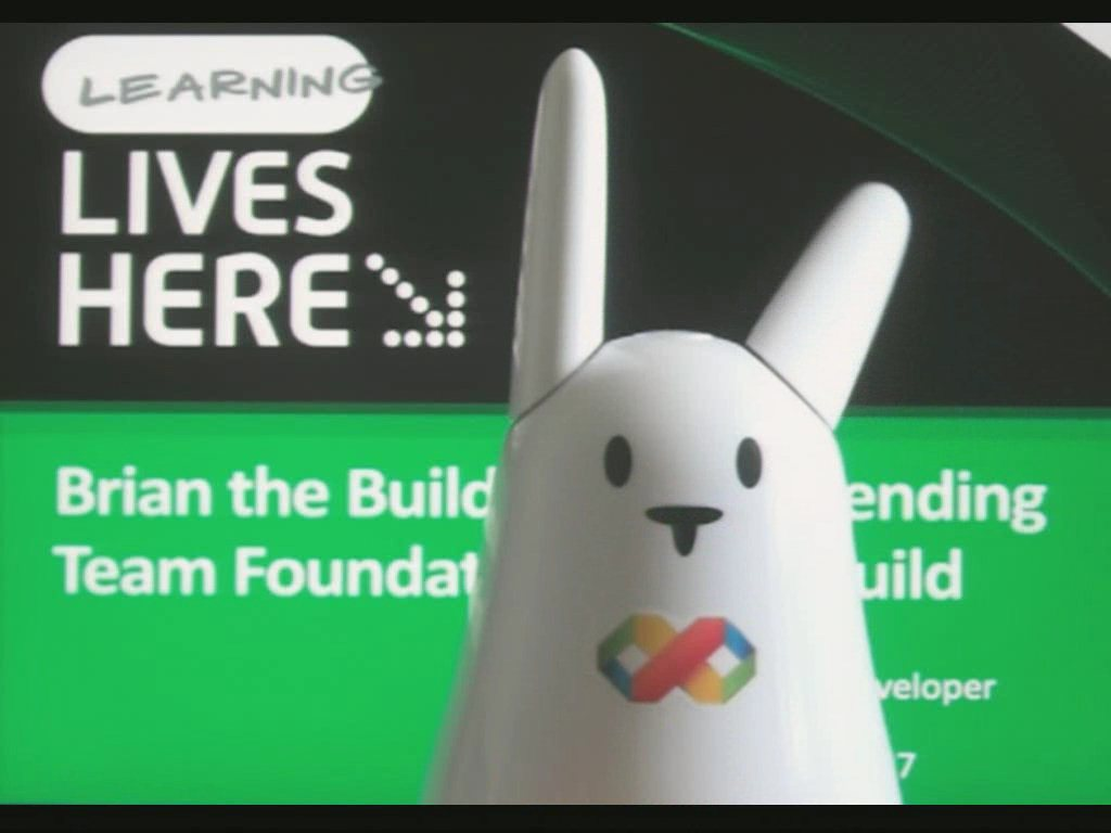Brian the Build Bunny: Extending Team Foundation Server Build