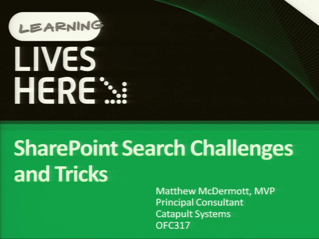 SharePoint Search Challenges and Tricks