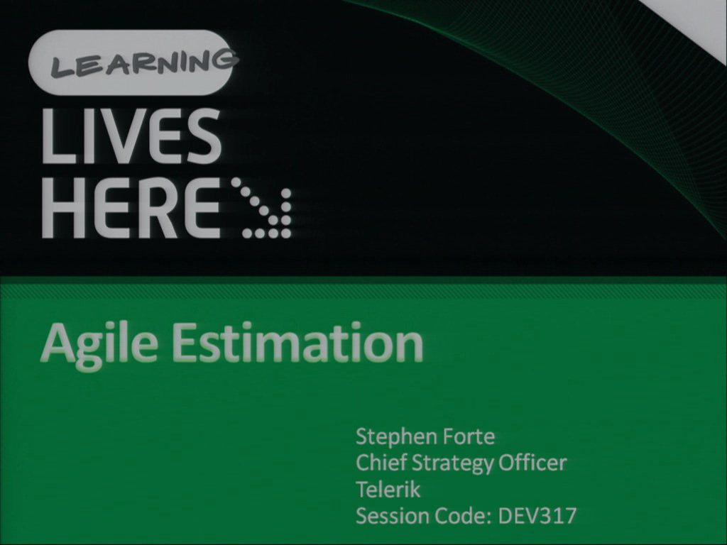 Agile Patterns: Agile Estimation