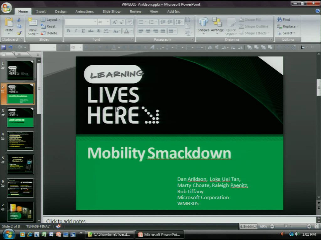Mobility Smackdown