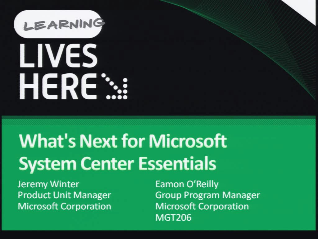 What's Next for Microsoft System Center Essentials