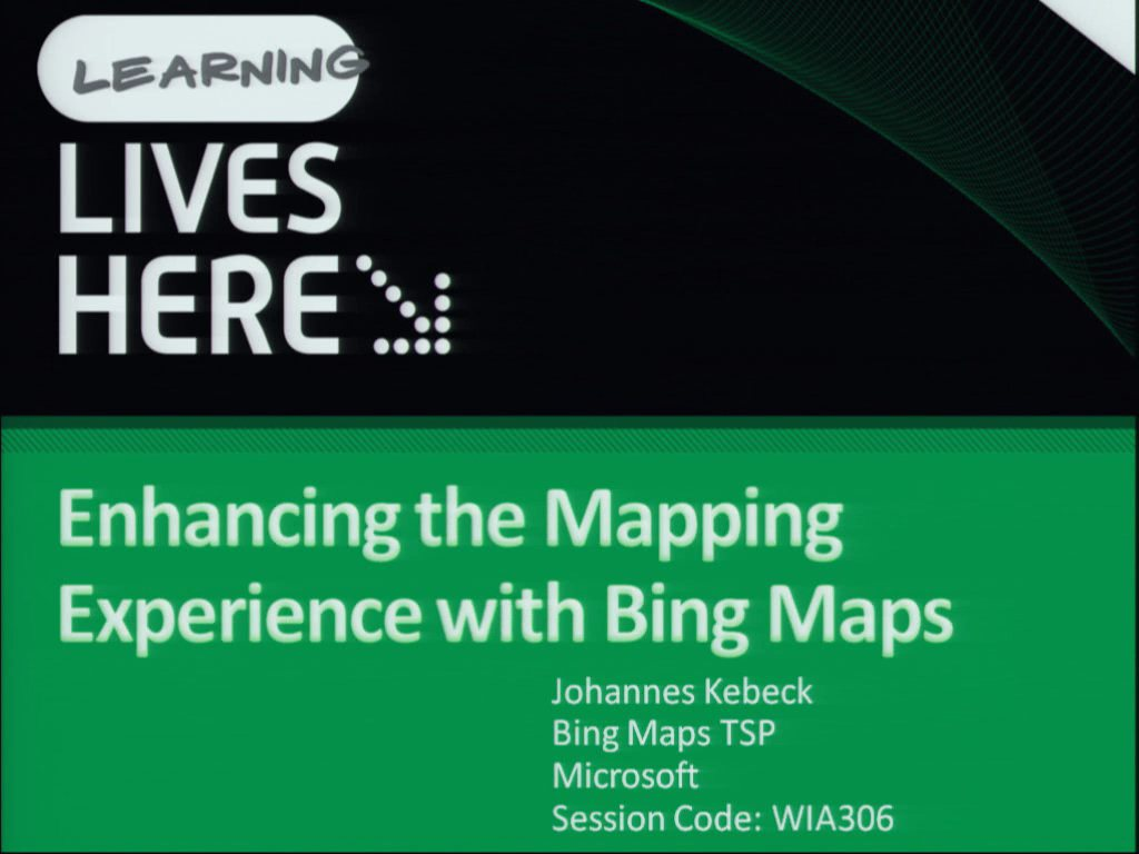 Enhancing the Mapping Experience with Microsoft Bing Maps