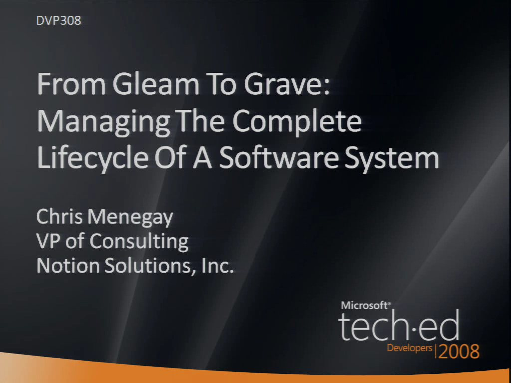 From Gleam to Grave: Managing the Complete Lifecycle of a Software System