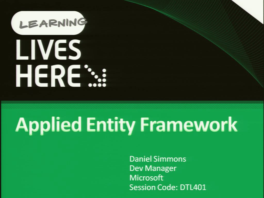 Applied Entity Framework