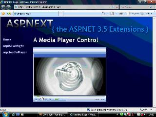 Silverlight 2 Beta 2 - The asp:MediaPlayer Control