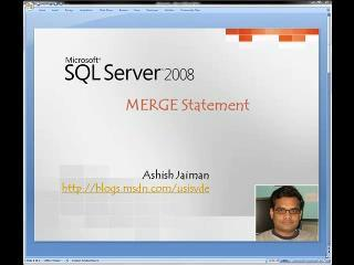 TSQL Merge  Statement - SQL Server 2008