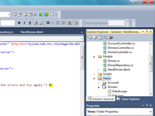 ASP.NET MVC in Visual Studio 2010 Beta 1
