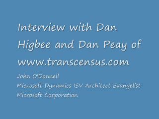 Transcensus Interview and Demonstration - Deliver easy training with SHO Guide