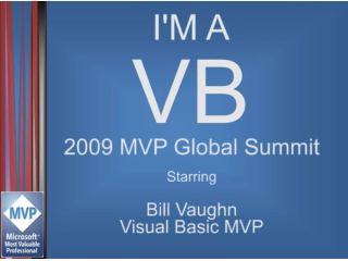 """I'm a VB"" Interview: Bill Vaughn, Visual Basic MVP"