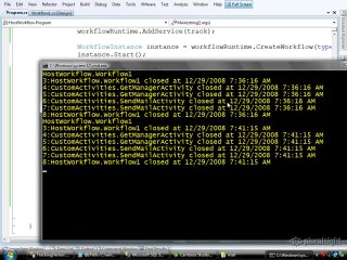 endpoint.tv Screencast - Using SQL Tracking Services with WF
