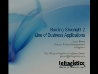 Building Line of Business Applications with Silverlight 2