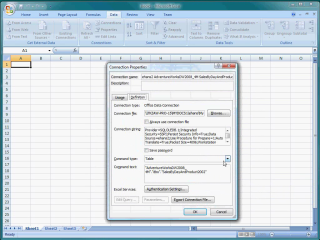 Demo SQL Server Star Join Query to Excel Pivot Table
