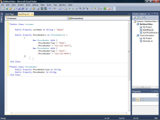 Auto-Implemented Properties in Visual Basic 2010