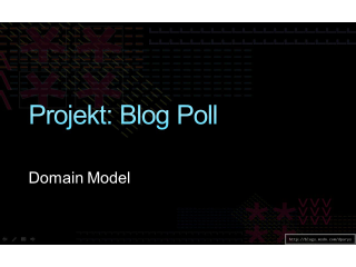 Projekt Blog Poll: Domain Model (Teil 5)