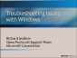 Troubleshooting Active Directory Issues with Windows