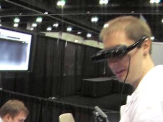 Coding4Fun with Brian Peek: WiiEarthVR is a Wiimote, Virtual Earth, WiiFit and VR Glasses