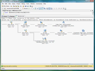 Demo SQL Server 2008 Star Join Query Optimization