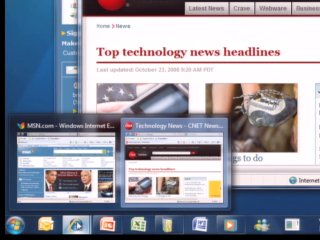 Windows 7 New Taskbar - An Overview
