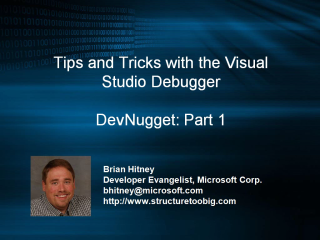 DevNugget - Debugging Tips and Tricks Part 1