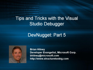DevNugget - Debugging Tips and Tricks Part 5
