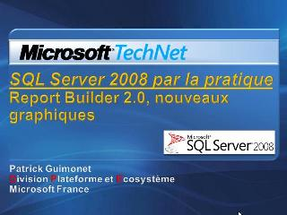 Report Builder 2.0, partie 2