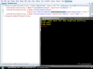 endpoint.tv Screencast - Declarative XAML Workflows in WF 3.5