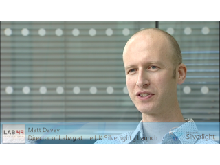 Silverlight 3 UK Launch: Interview with Matt Davey of Lab49