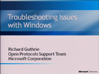 Certificate Plugfest Troubleshooting Issues with Windows