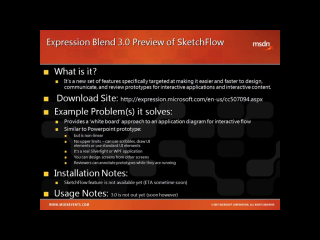 Toolshed Tooltip #17 - Expression Blend 3 SketchFlow - The game has changed
